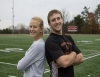 Sticking together at Ursinus Siblings Jeannie and Rich Jasinski are excelling in athletics atUC